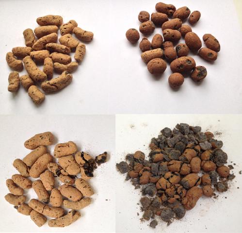 Тест на прочность керамзита